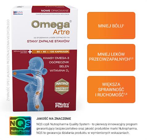 Omega® Artre może poprawić skuteczność leczenia