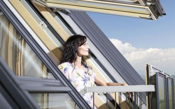 Zaproś świat do domu - okno balkonowe FGH-V Galeria
